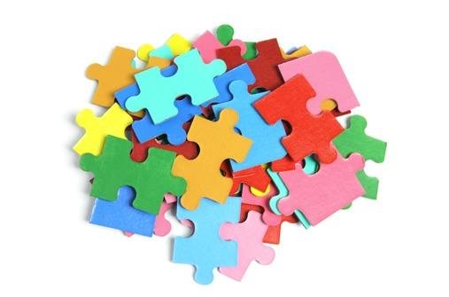 kinder puzzel
