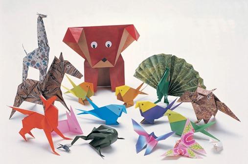 spiele f r unterwegs origami bilder. Black Bedroom Furniture Sets. Home Design Ideas