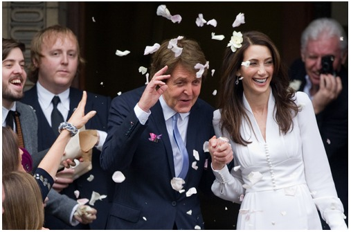 Promi Hochzeiten: Paul McCartney hat geheiratet