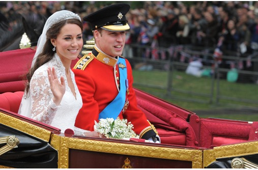 Brautpaar Prinz William und Kate Middleton