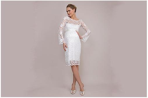 Hochzeitskleider für Schwangere - Bilder - Familie.de
