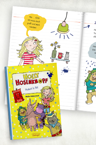 Comicbücher für Kinder: Holly Hosenknopf – Herbert in Not
