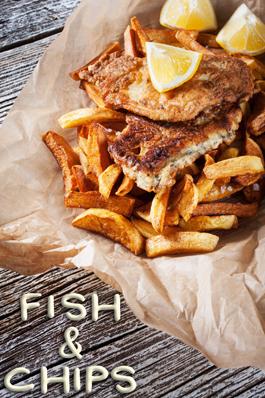 fish chips. Black Bedroom Furniture Sets. Home Design Ideas