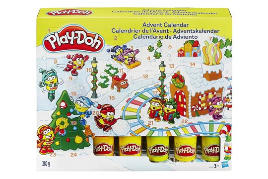 Adventskalender von Play-Doh