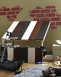 piraten haus f r kinder bauen. Black Bedroom Furniture Sets. Home Design Ideas