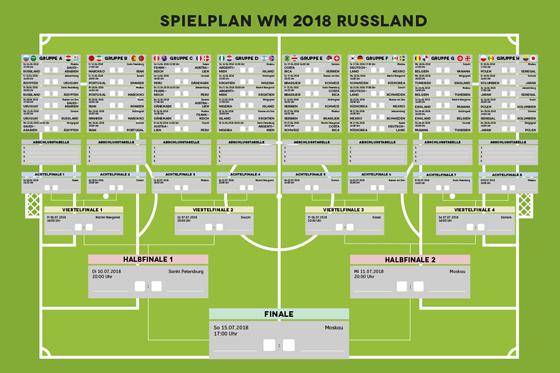 Fußball WM 2018: So wird das Fußball-Fest zum ...