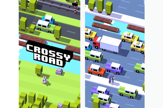Apps für Kinder: Crossy Road