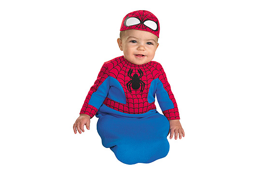 Babykostüm: Spiderman