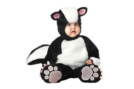 faschingskost me f rs baby stinktier bilder. Black Bedroom Furniture Sets. Home Design Ideas