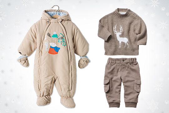 Babymode Winter 2014: Mit Tier-Motiven