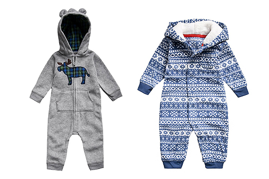 Winter-Jumpsuits von Carter's