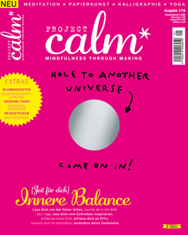 Cover Magazin Project Calm