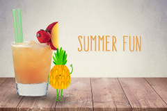 Cocktails für Kinder: Summer Fun