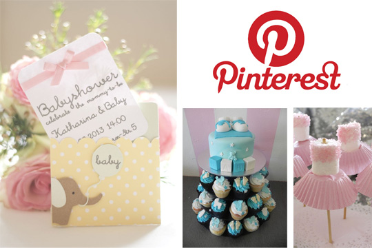 Gepinnt inspirationen f r die baby shower bilder - Baby shower party ideen ...