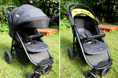 Buggy-Test: Joie Litetrax 4 Air