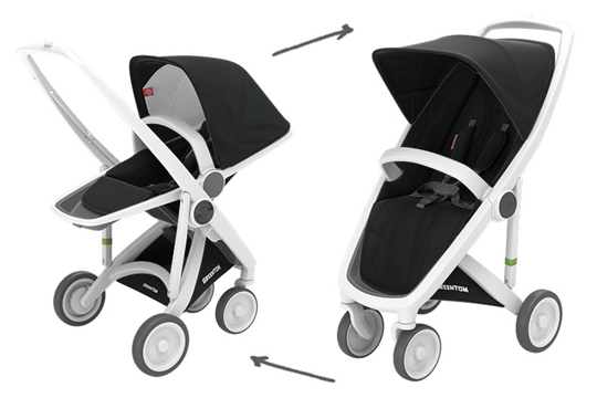 Greentom 2-in-1 Upp Classic & Reversible Buggy