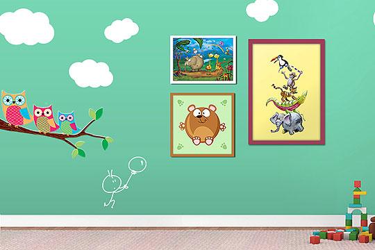 Kinderzimmer gestalten: Wandgestaltung - Bilder - Familie.de | {Kinderzimmer gestalten 84}