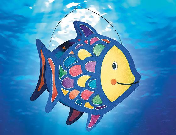 Regenbogenfisch laterne basteln wanderfreunde hainsacker for Fisch bilder