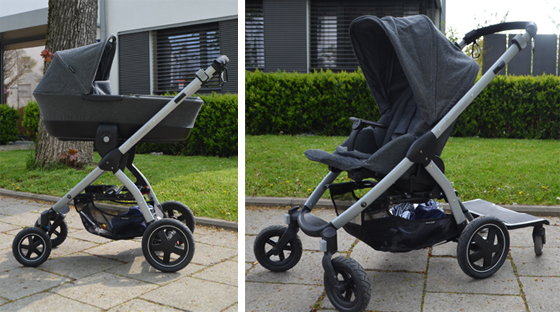 maxi cosi stella im test testet den neuen kombi kinderwagen. Black Bedroom Furniture Sets. Home Design Ideas
