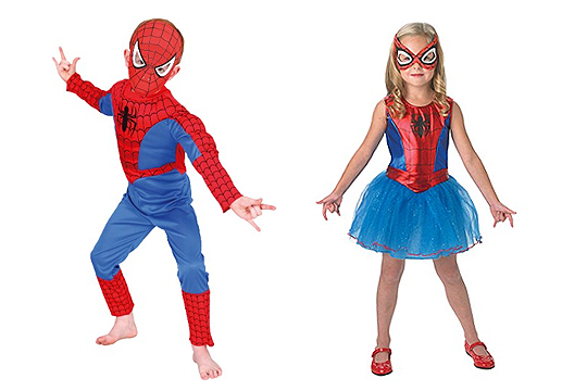 spiderman kost m und spidergirl bilder. Black Bedroom Furniture Sets. Home Design Ideas