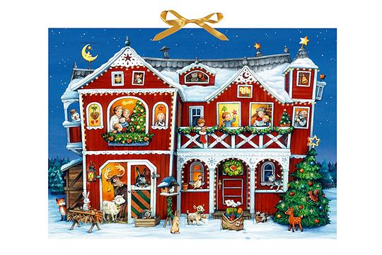 adventskalender villa weihnacht bilder. Black Bedroom Furniture Sets. Home Design Ideas
