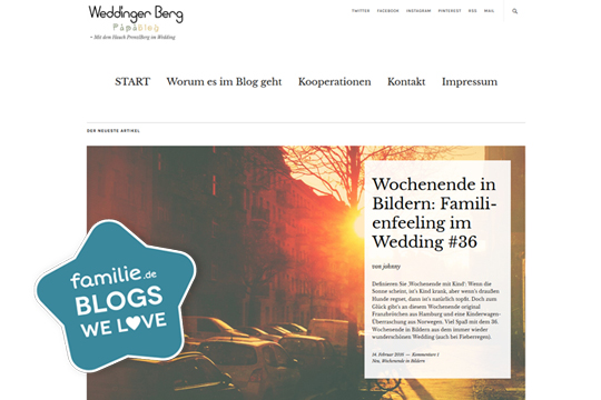 Blog: Weddinger Berg