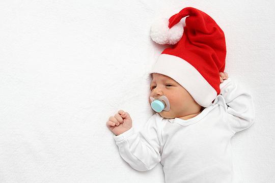 Erstes Weihnachten: Fotos - Bilder - Familie.de