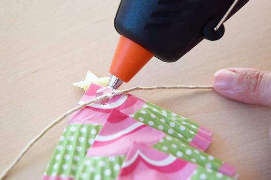 Weihnachtsgirlande anfertigen bilder - Weihnachtsgirlande basteln ...