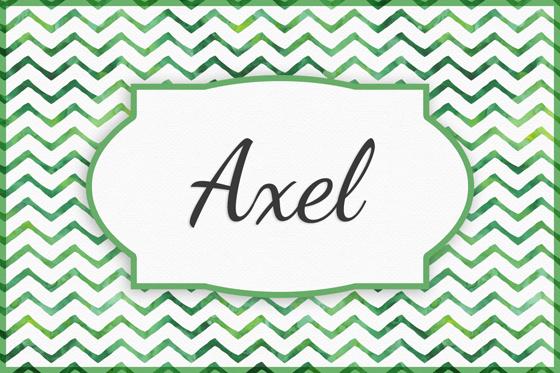 Seltene Jungennamen Axel