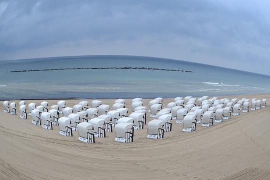 Strandkörbe Sellin auf Rügen