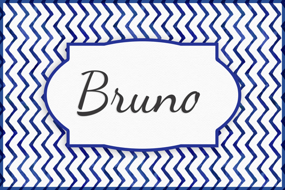 Seltene Jungennamen Bruno