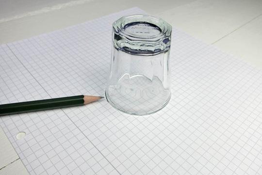 Schablone zeichnen fürs Memory