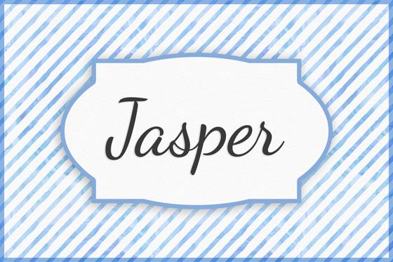 Seltene Jungennamen Jasper