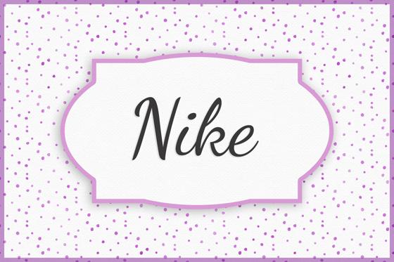 Seltene Mädchennamen Nike