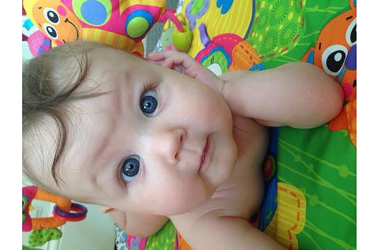 Liliana, 6 Monate