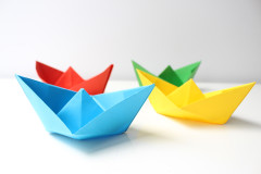 Schiffchen falten