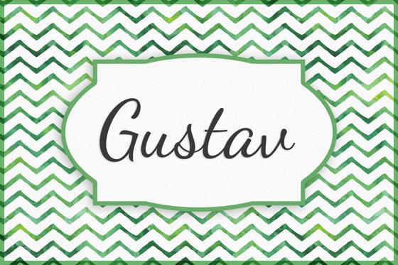 Seltene Jungennamen Gustav
