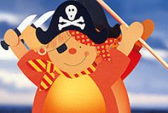 Piraten-Laterne basteln