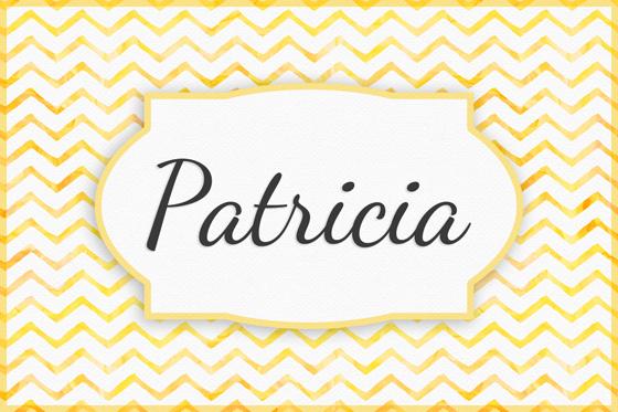 Seltene Mädchennamen Patricia