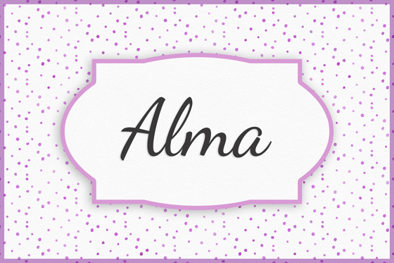 Seltene Mädchennamen Alma