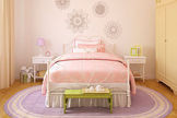 Kinderzimmer gestalten: Mädchenzimmer