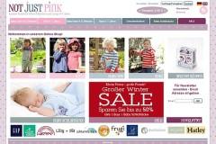 Online-Shops für Baby- und Kindermode: notjustpink