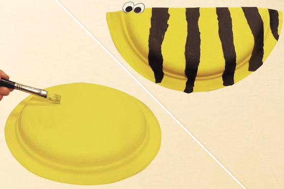 So bastelt man eine Biene