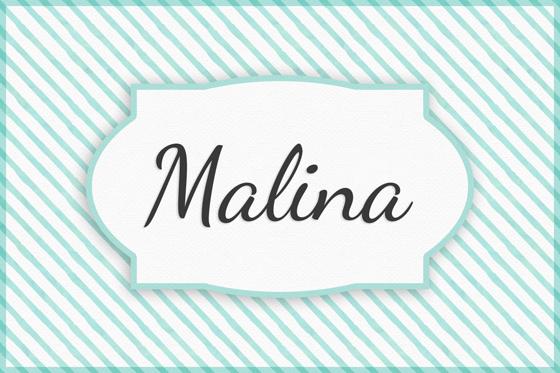 Seltene Mädchennamen Malina
