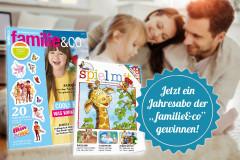 familie&co Jahres-Abo gewinnen