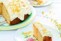 Rezept: Zitronen-Mascarpone-Kuchen