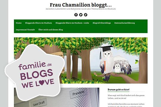 Frau Chamailion bloggt…