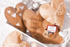 Geschenke verpacken: Überraschungs-Wundertüten mit Herz