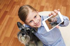 Kinder und Handys