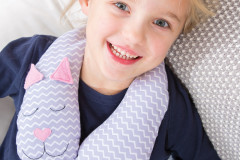 Nackenrolle für Kinderr nähen